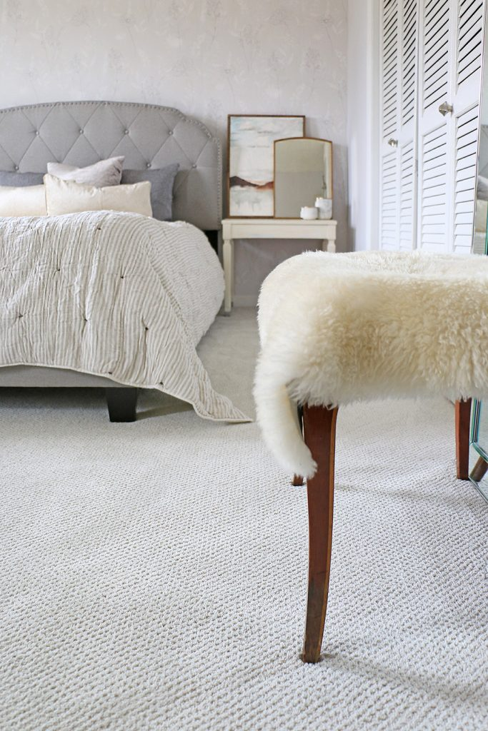 Carpet in Fashionable Bedroom